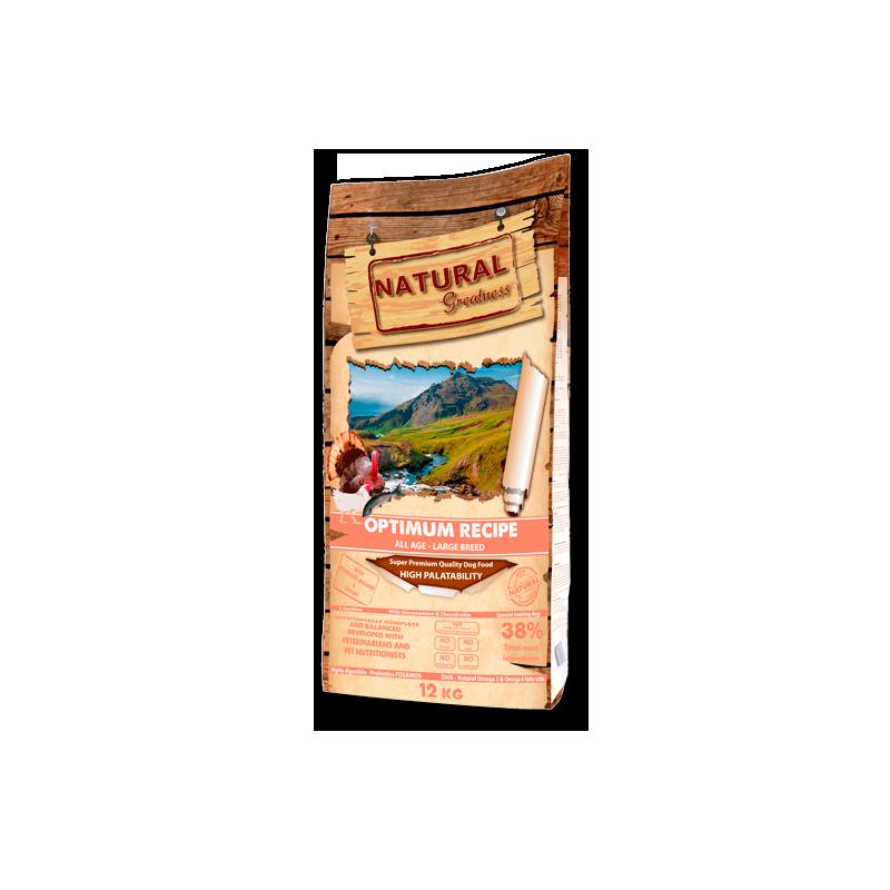 Receta Optimum Large Bread - NATURAL GREATNESS
