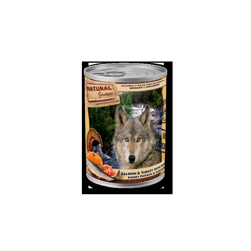 Salmón y Pavo - Alimento completo (PERRO) - NATURAL GREATNESS