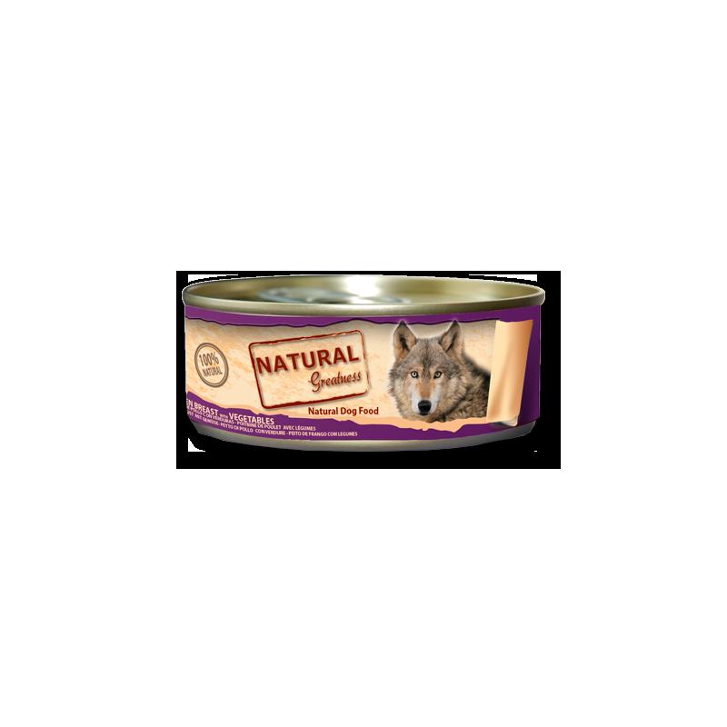 Pechuga de Pollo con Verduras - Alimento complementario (PERRO) - NATURAL GREATNESS