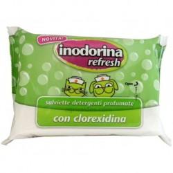 Toallitas Inodorina con clorexidina