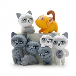 Gatos Enfadados