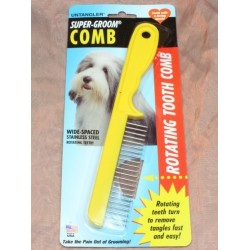 Super-Groom Comb - Dientes Giratorios