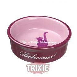 Comedero Trixie Delicious de porcelana