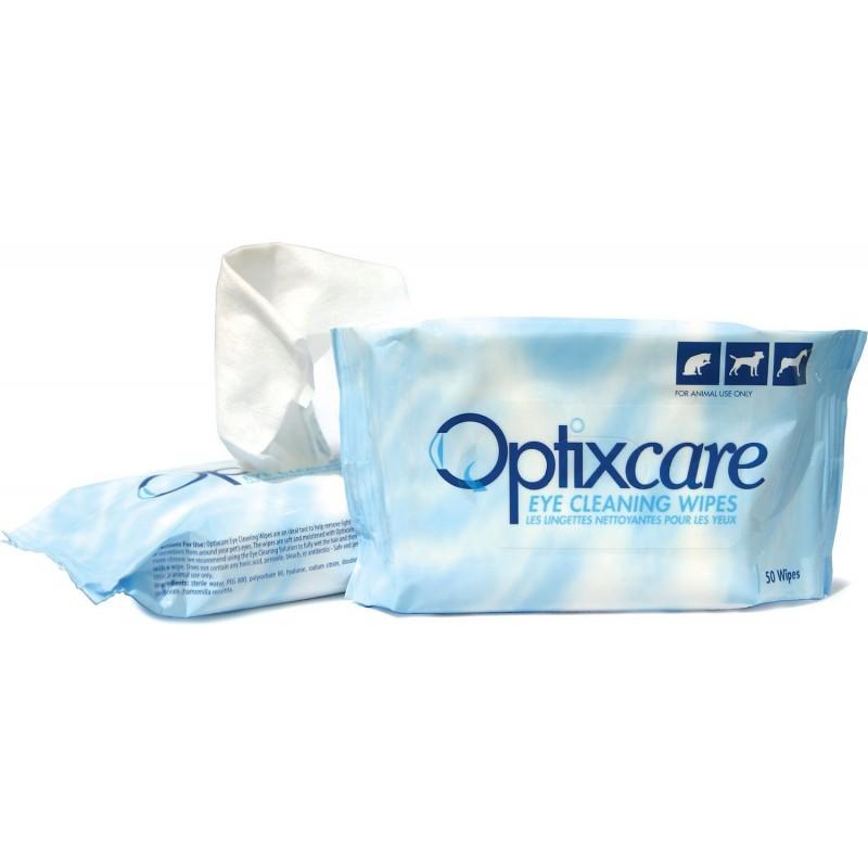 Optixcare Toallitas para limpieza ocular