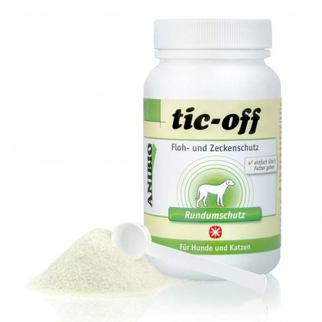 Anibio Tic-Off: Protección contra pulgas y garrapatas