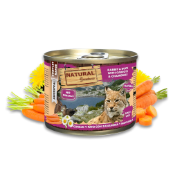 Conejo y Pato - Alimento completo (GATO) - NATURAL GREATNESS