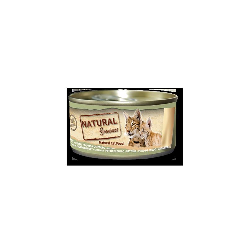 Pechuga de Pollo (gatitos) - Alimento complementario (GATO) - NATURAL GREATNESS